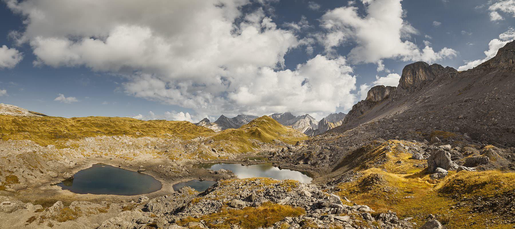 Switzerland, Urschwyz, Silberen, Mountain, Autumn, Silberenseeli