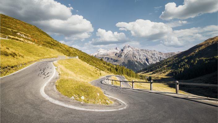 Switzerland, Grison, Spluegenpass, Teurihorn, Alperschällihorn