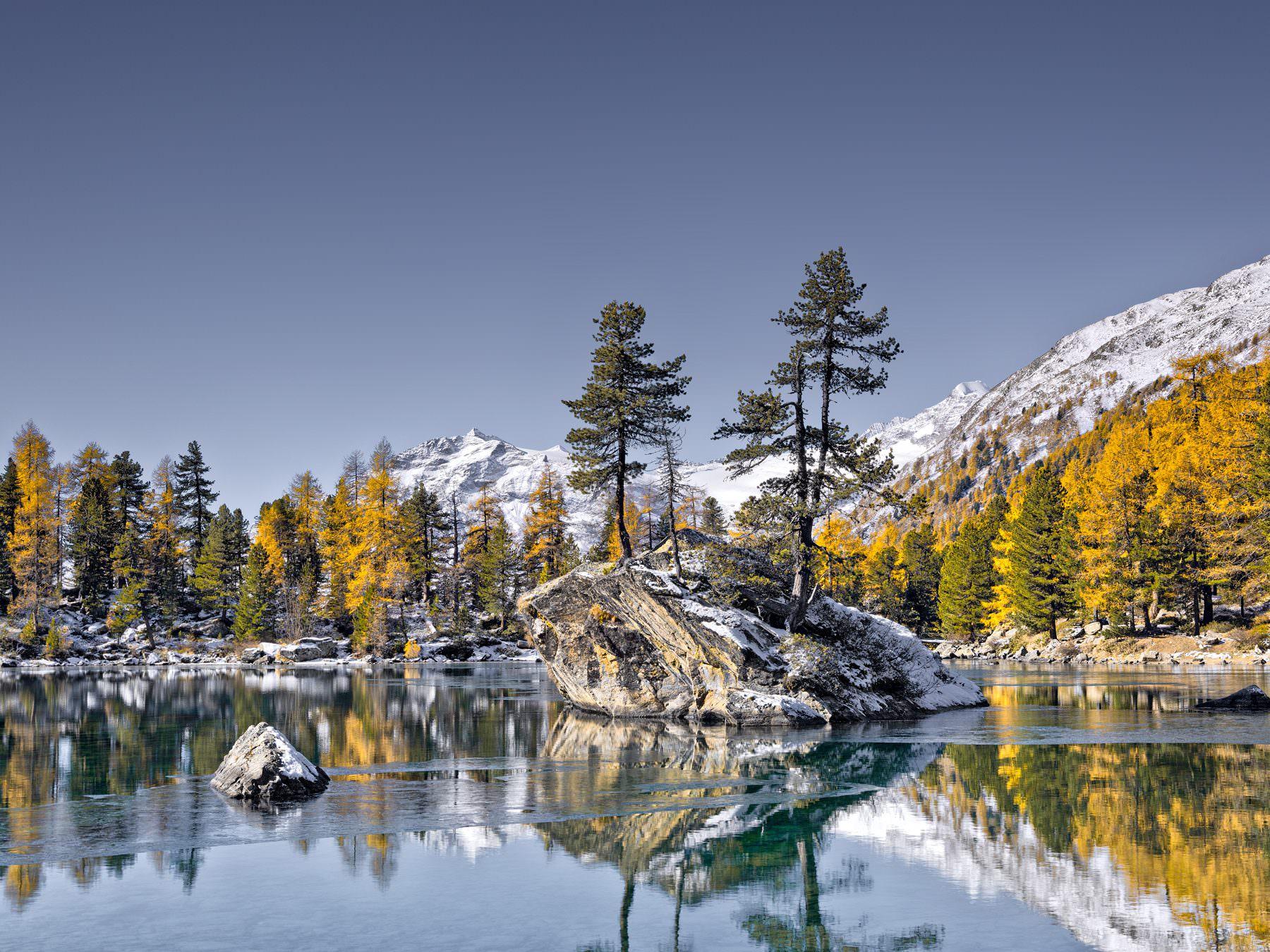 Herbst am Lago di Saoseo / Val Camp / Engadin