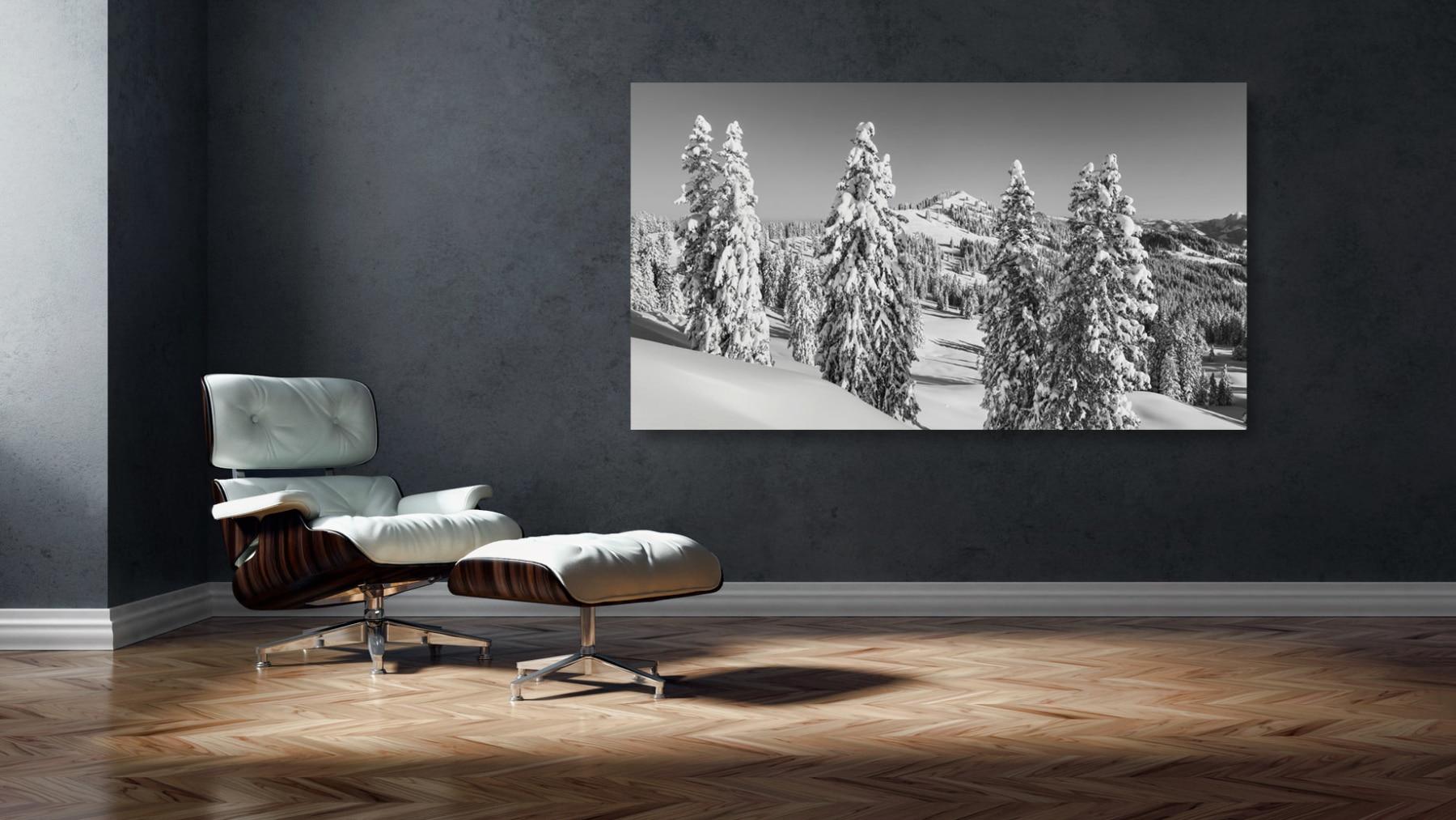 Furggelenstock - Winter - Fine-Art, Black and White, unlimted Edition