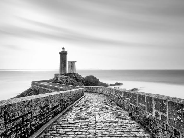 France, Brittany, Brest, Lighthouse, Phare du petit minou © by Gerry Pacher