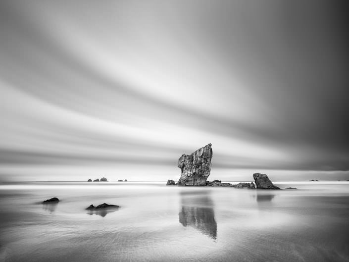 Spain, Asturias Black and White Study I © by Gerry Pacher