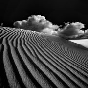 Clouds Attack at White Sands National Monument © by Gerry Pacher