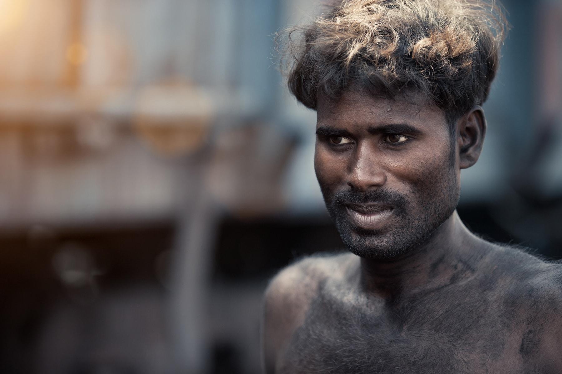 coal men worker portrait