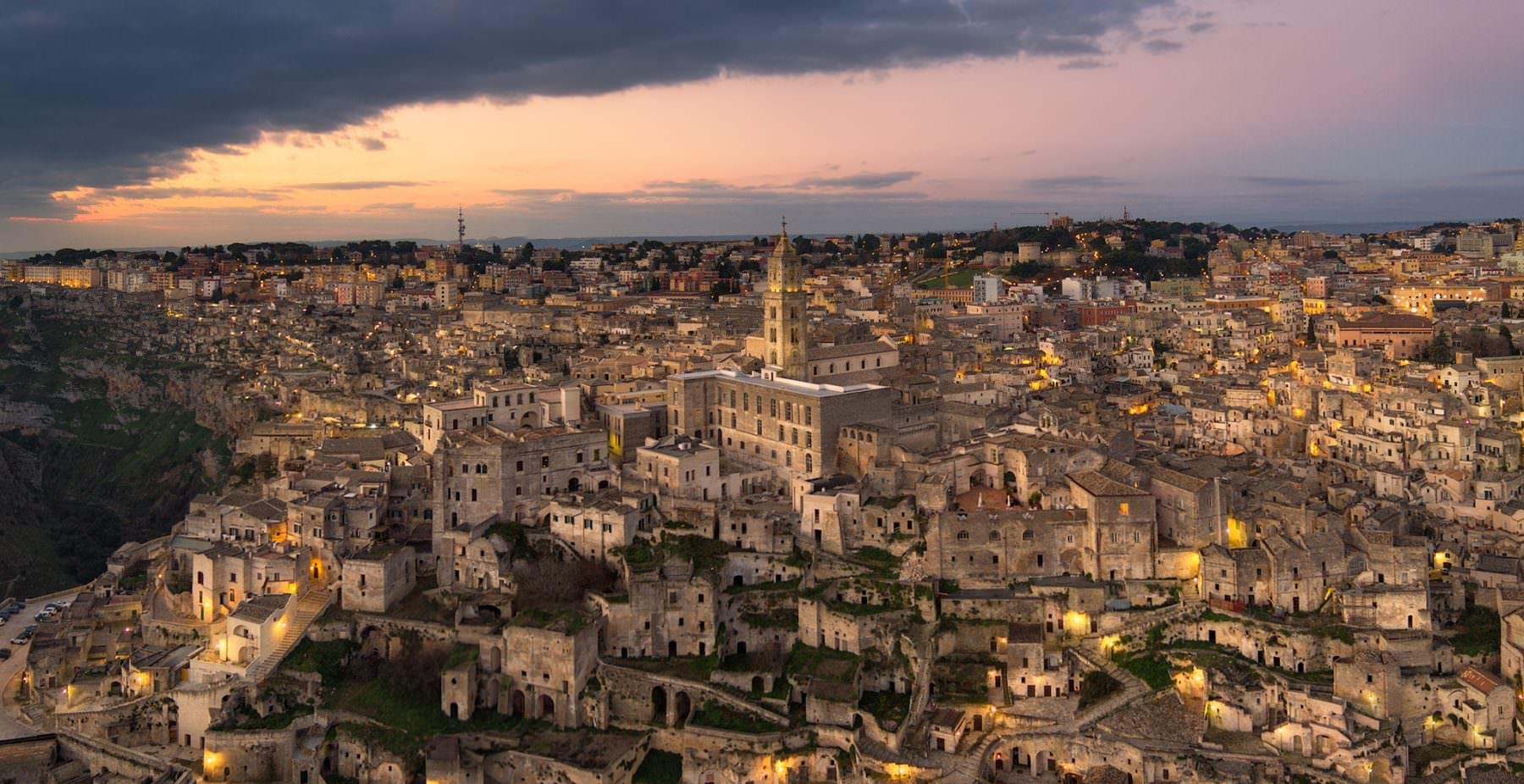 Italy, Basilicata, Sassi di Matera, Gerry Pacher, Air-Shots.ch