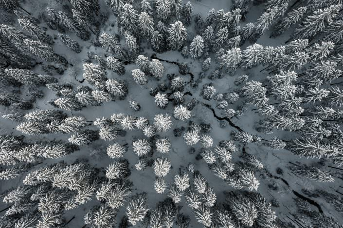 Air-Shots.CH / Switzerland / Schwyz / Winter / Wonderland