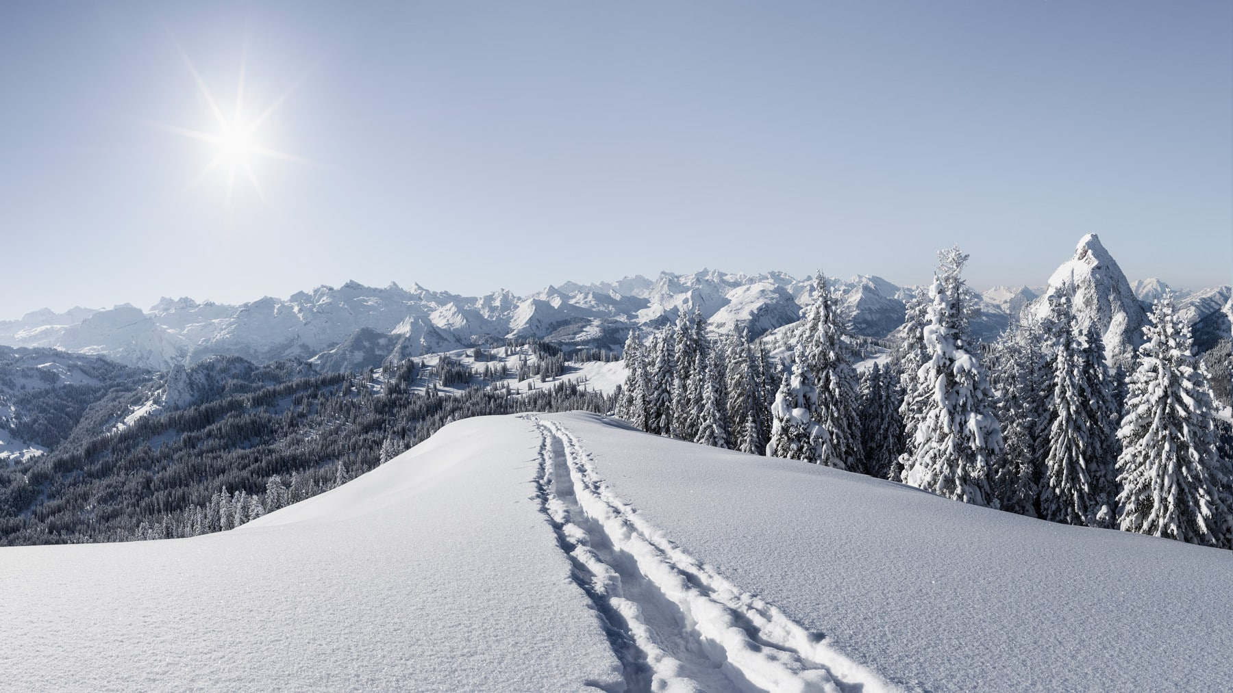 Mythenregion - frischer Schnee / Winter Switzerland, Schwyz