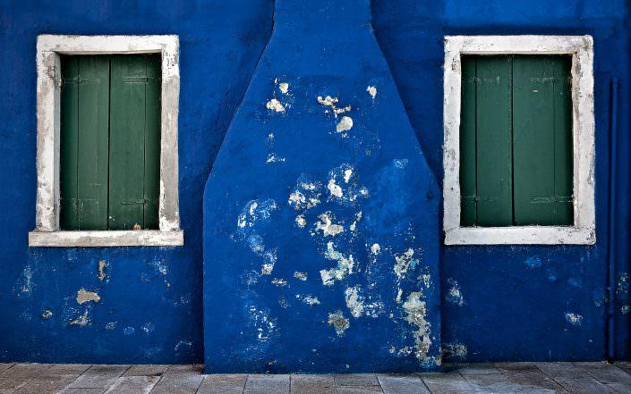 Blue, Fine Art, Color, Farbe, Italy, Venedig, Burano, Gerry Pacher