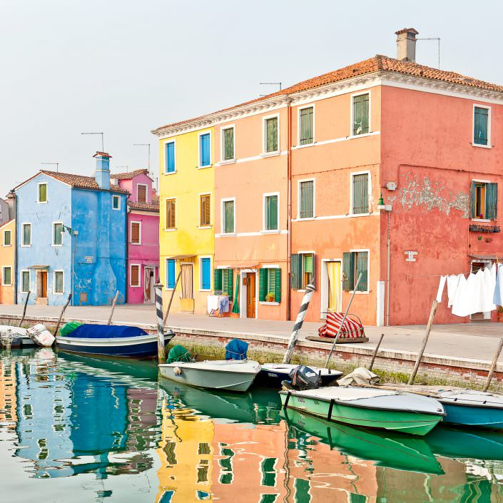 Watercolours, Fine Art, Color, Farbe, Italy, Venedig, Burano, Gerry Pacher