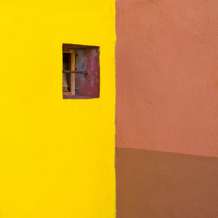 Yellow & Brown, Fine Art, Color, Farbe, Italy, Venedig, Burano, Gerry Pacher