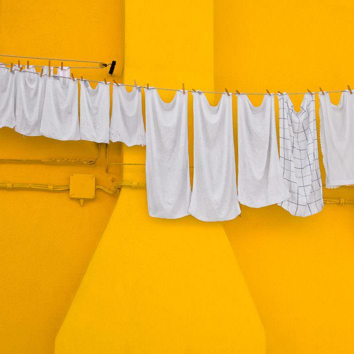 Clothesline, Fine Art, Color, Farbe, Italy, Venedig, Burano, Gerry Pacher