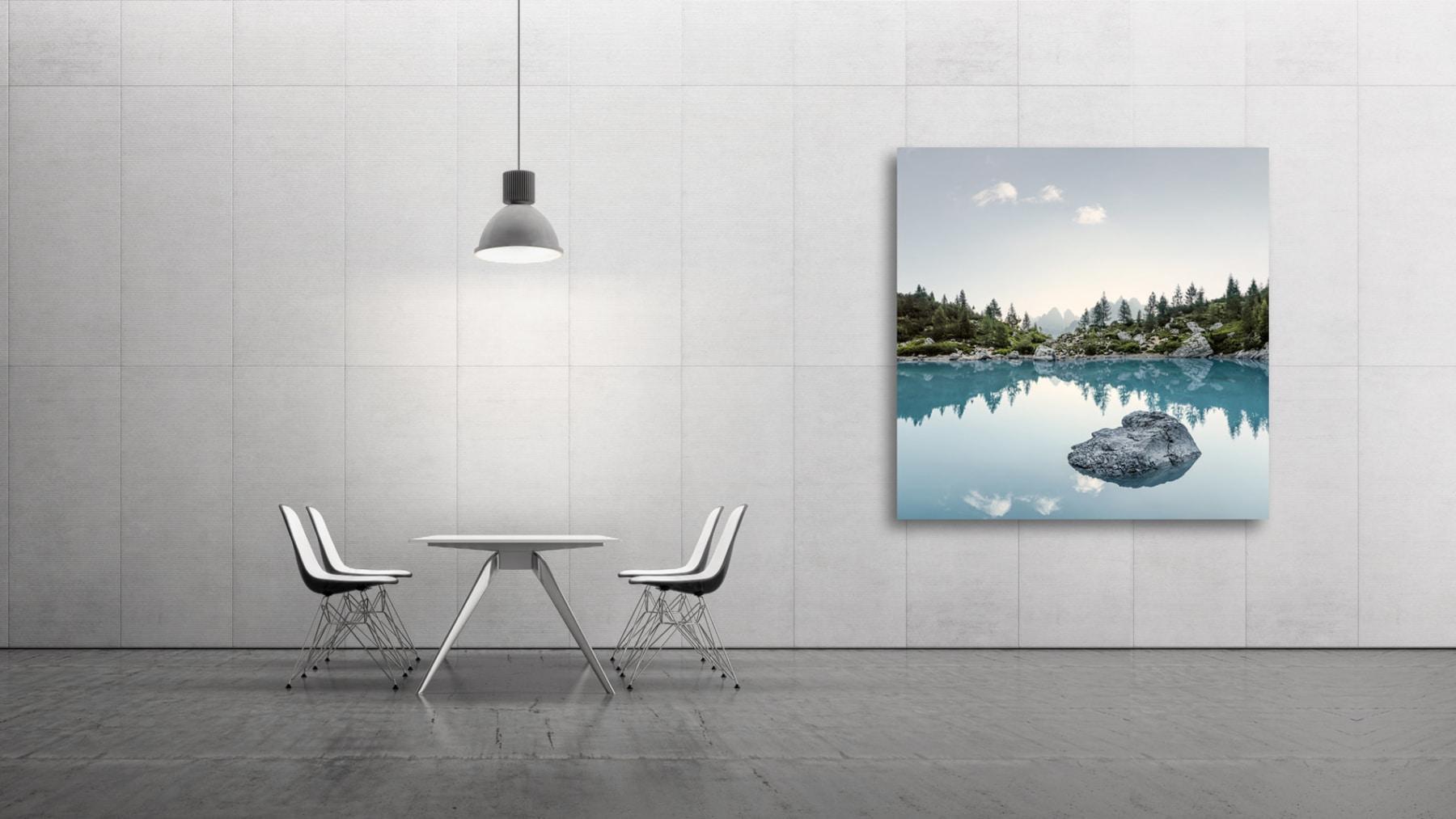 Drei Zinnen - Sextner Dolomiten - Lago Sorapis - fine art by Gerry Pacher