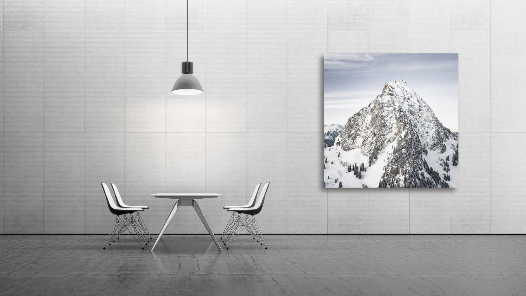 Der Grosse Mythen / Schwyz - winterlicher Aufnahme - The Rock
