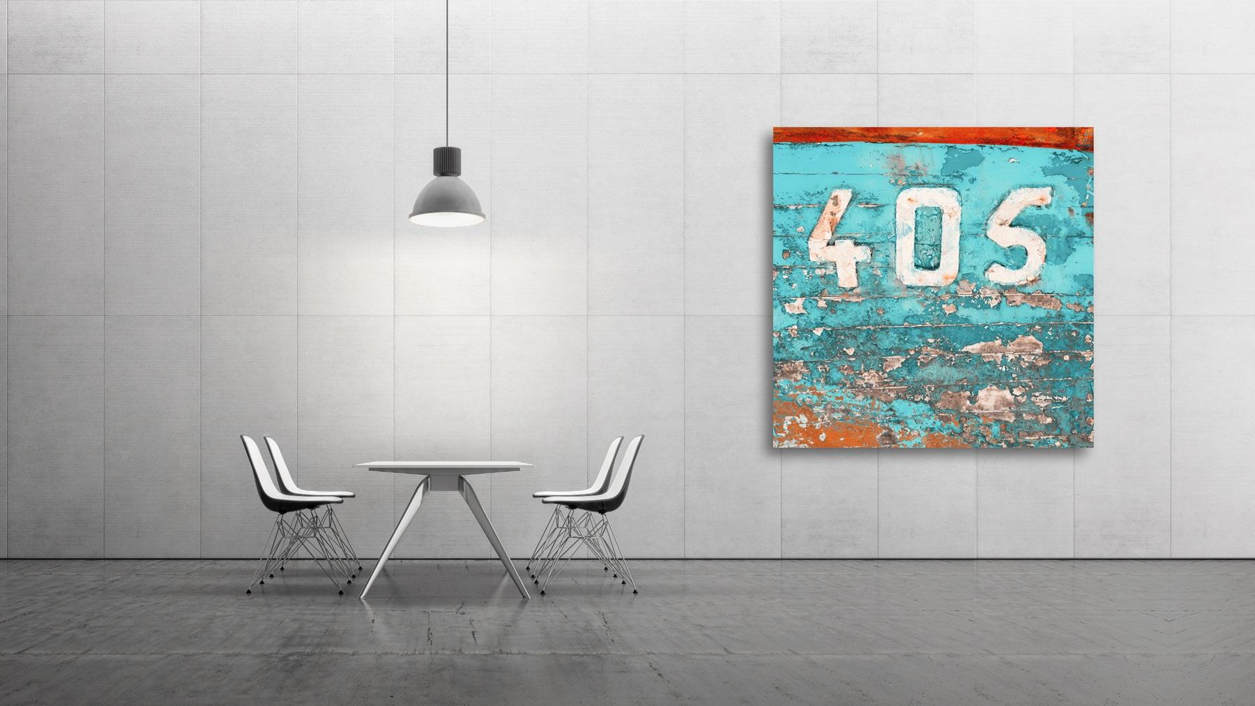 Fine-Art 405, Farbe Blau Rot, unlimted Edition