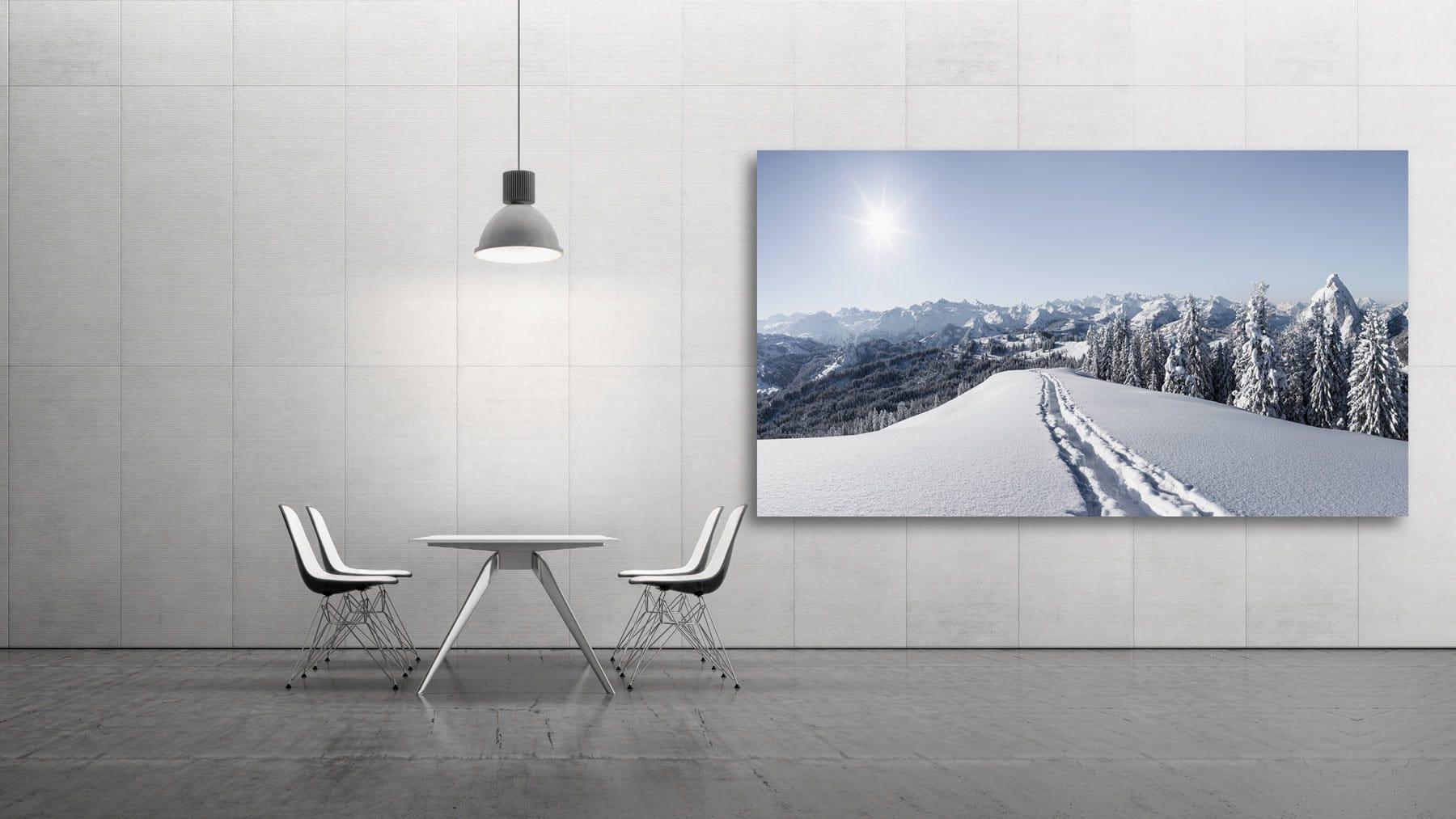 Mythenregion - frischer Schnee / Winter Switzerland, Schwyz