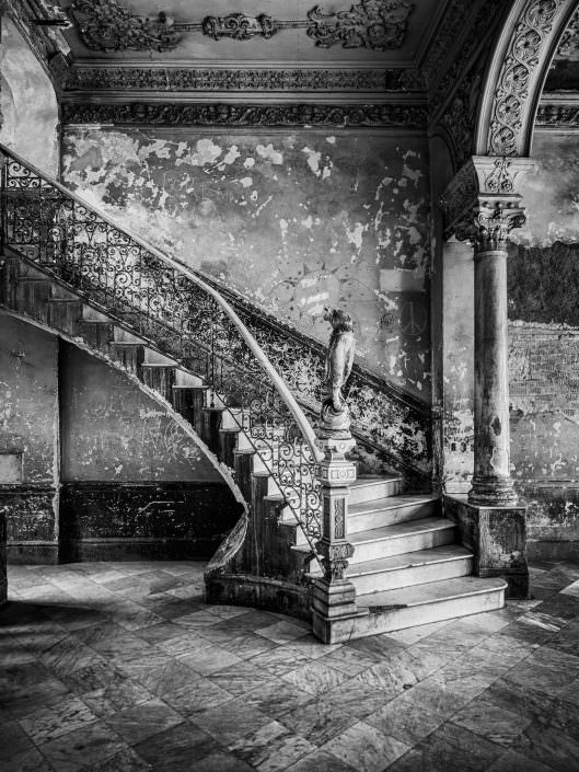 The famous staircase of La Guarida. Cuba habana centro Copyright © by Gerry Pacher
