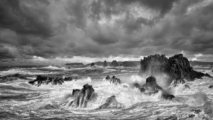 Storm over ile d'Ouessant / France / Brittany / Copyright © by Gerry Pacher