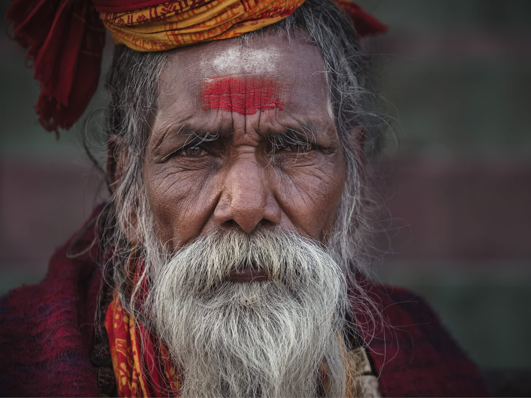 """what's the price - from the portrait series """"The holy men of Varanasi"""" © by Gerry Pacher"""