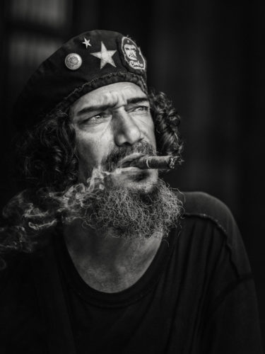 Cuba - Havana - I had the great pleasure to photograph Ernesto Rafael Guevara de la Serna called Che Guevara... isn't he really? Copyright © by Gerry Pacher
