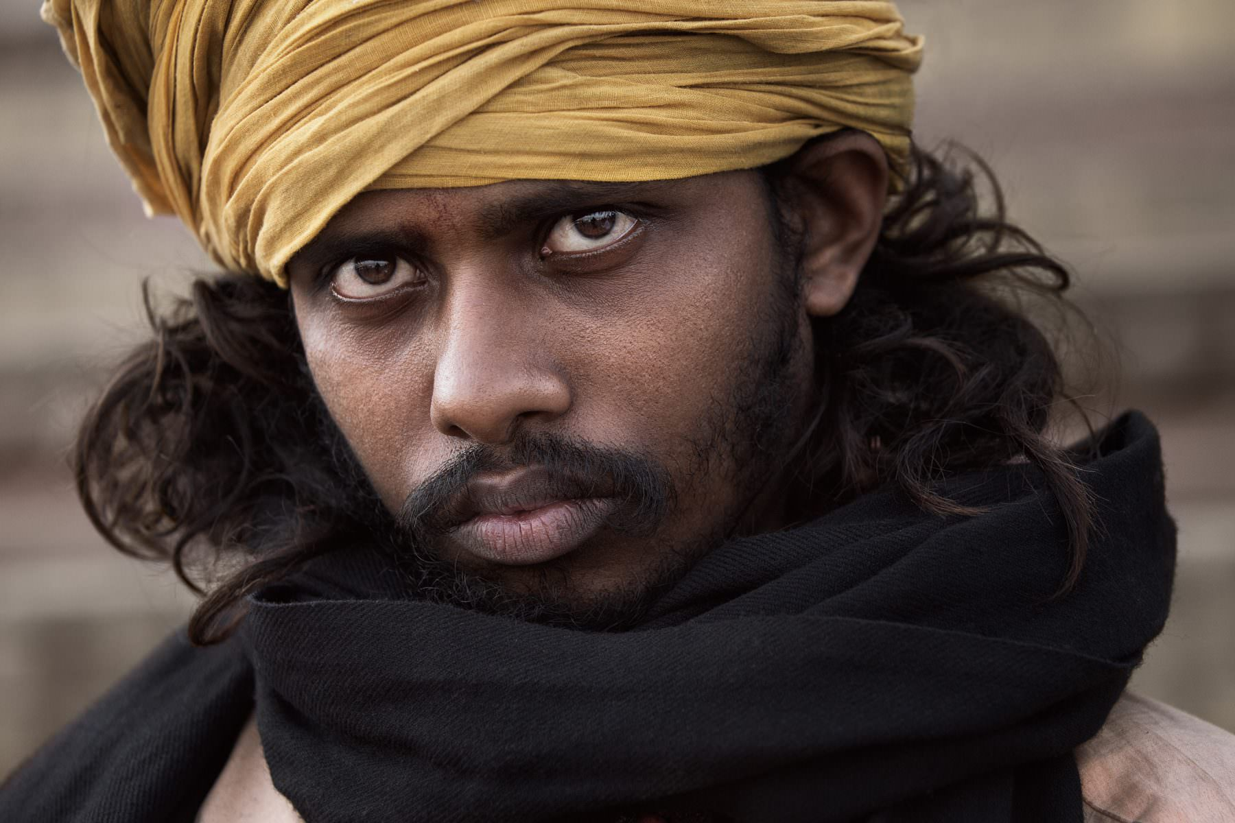Portraits of holy men, Tamil, Sadhu, India / Varanasi / Benares / Kashi Copyright © by Gerry Pacher