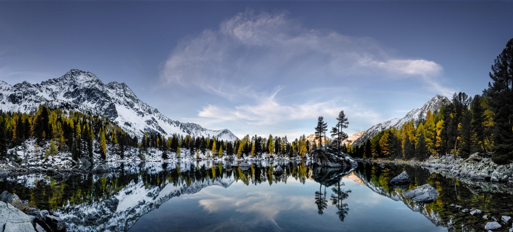 Schweiz, Engadin, Puschlav, Val di Campo, Lagh da Saoseo