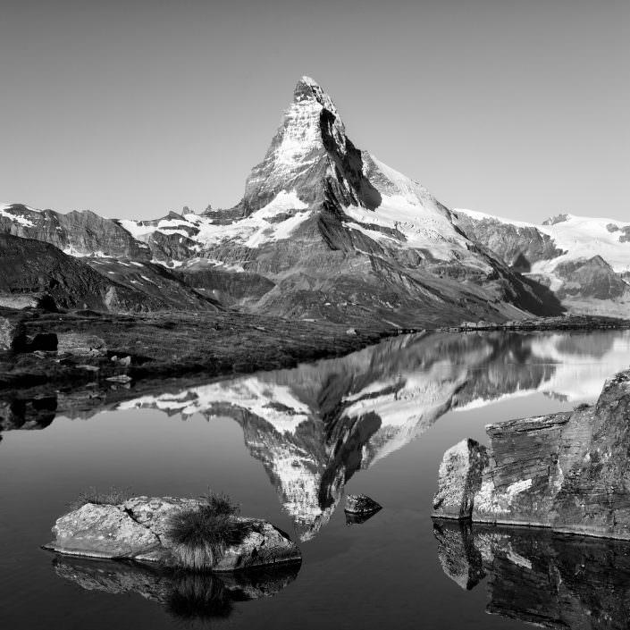 Reflexion des Matterhorns im Stellisee © by Gerry Pacher