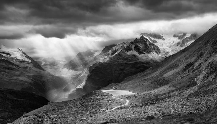 Schweiz, Zermatt, Matterhorn, Stellisee, Herbst, Berge, Sturm,