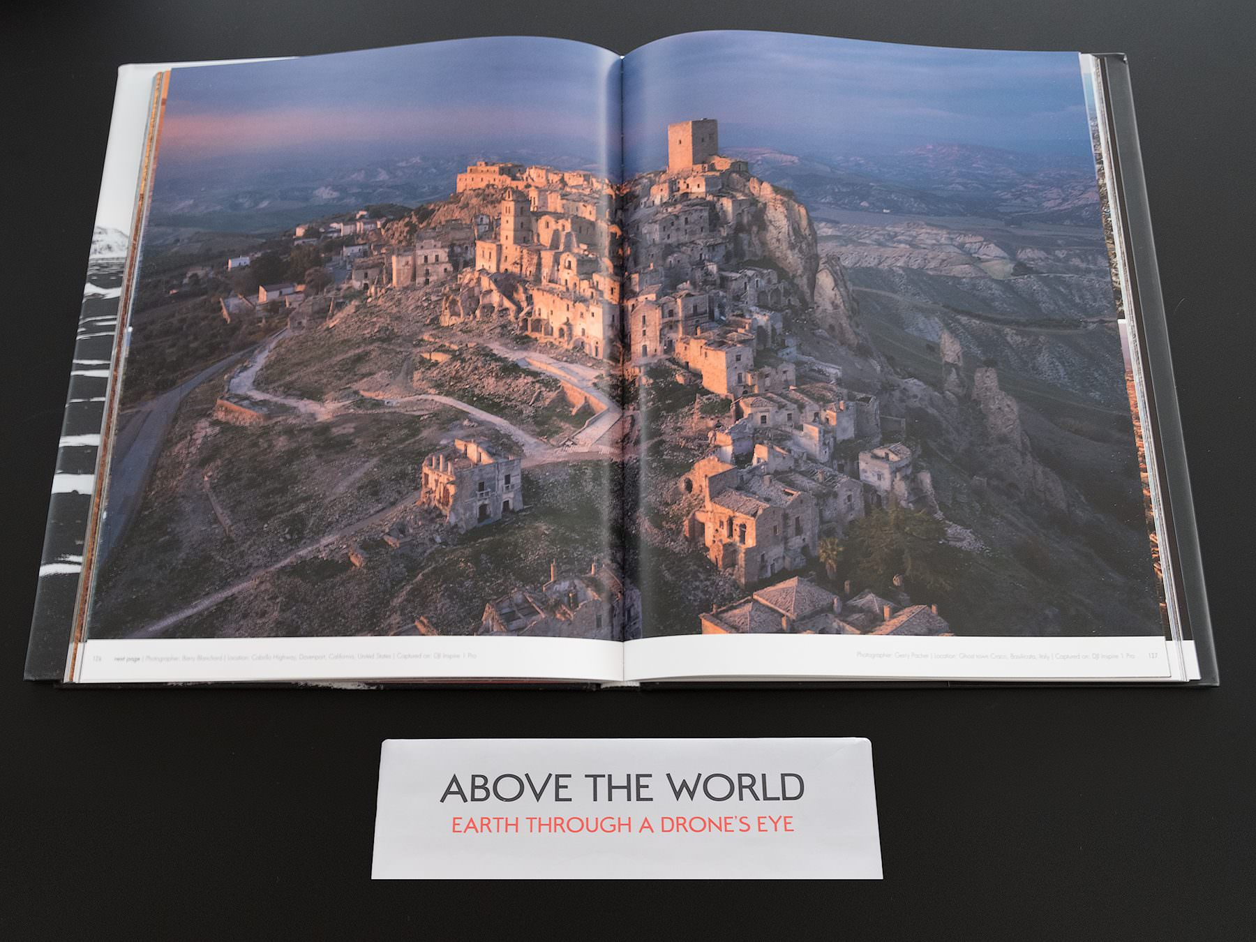 Aerial Photograph: The Ghost Town Craco / Italy