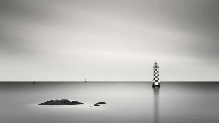 France - Bretagne - The cute little Lighthouse Perdrix
