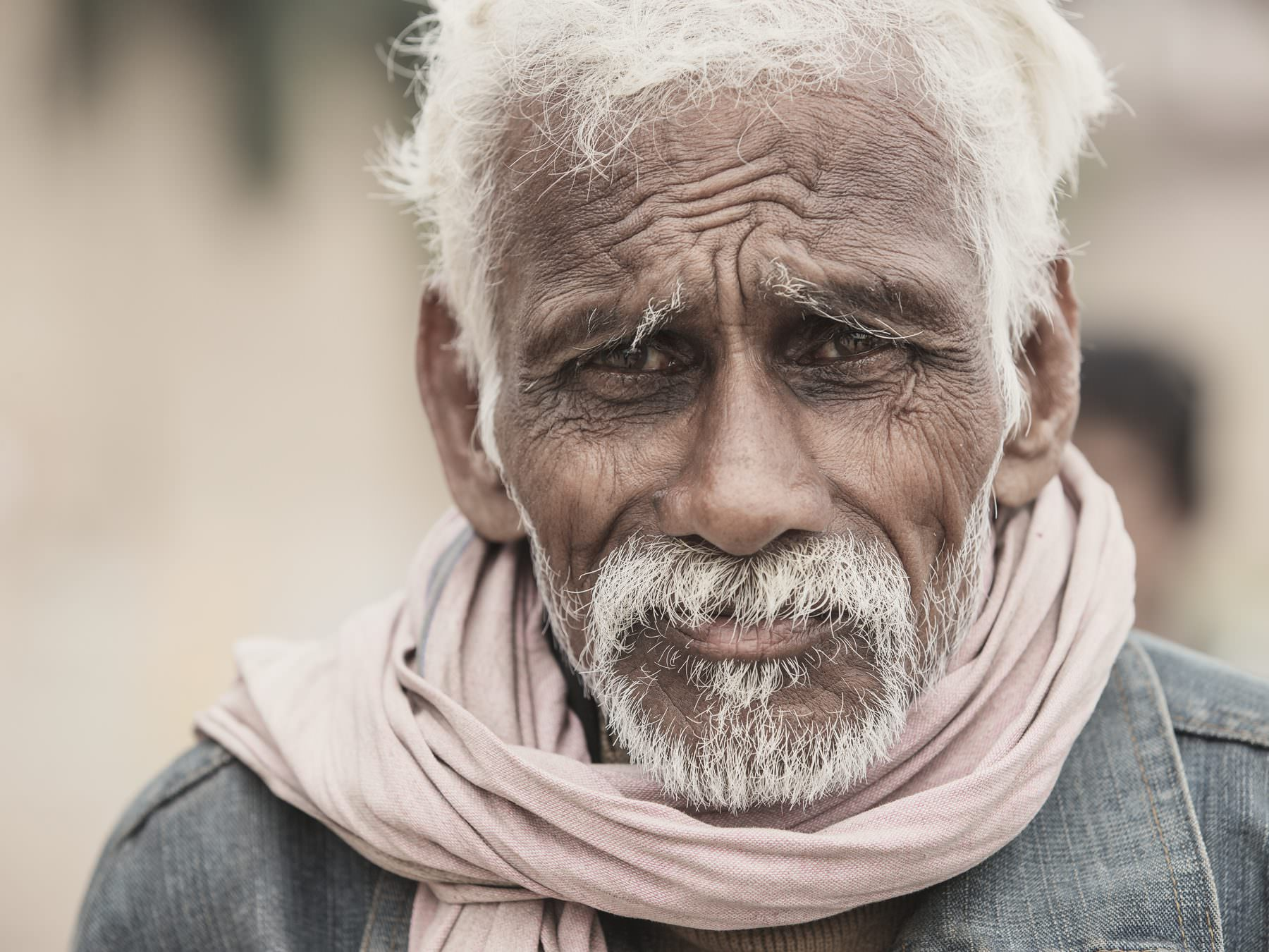 India, Varanasi, a local somewhere in Varanasi