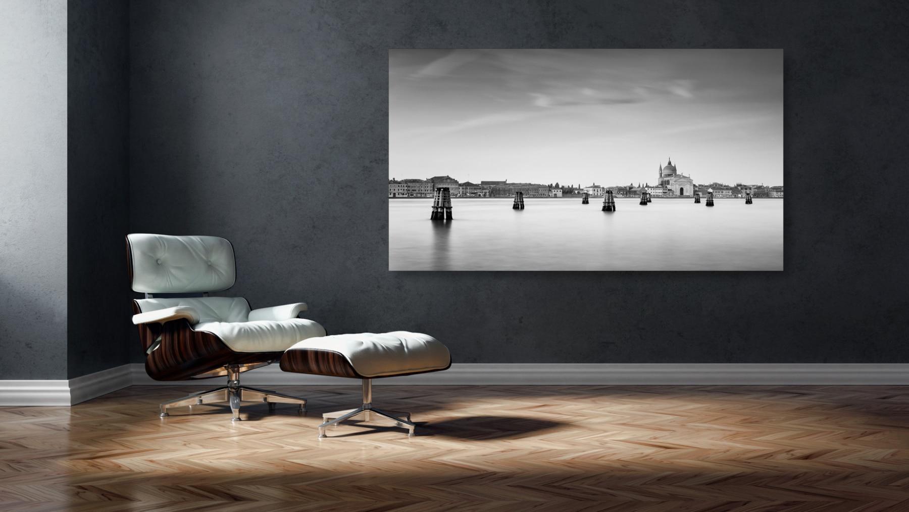 Italien, Venedig, Chiesa del Redentore, schwarz weiss Studie