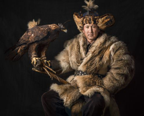 Boete a Kazakh Eagle Hunter / Mongolia / Altai © by Gerry Pacher