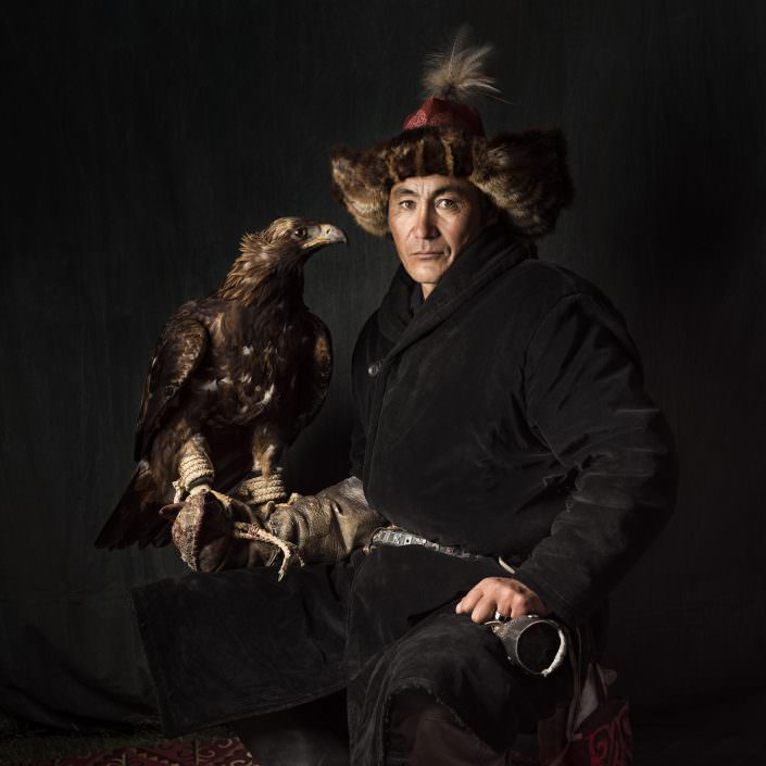 Bekish a Kazakh Eagle Hunter / Mongolia / Altai © by Gerry Pacher