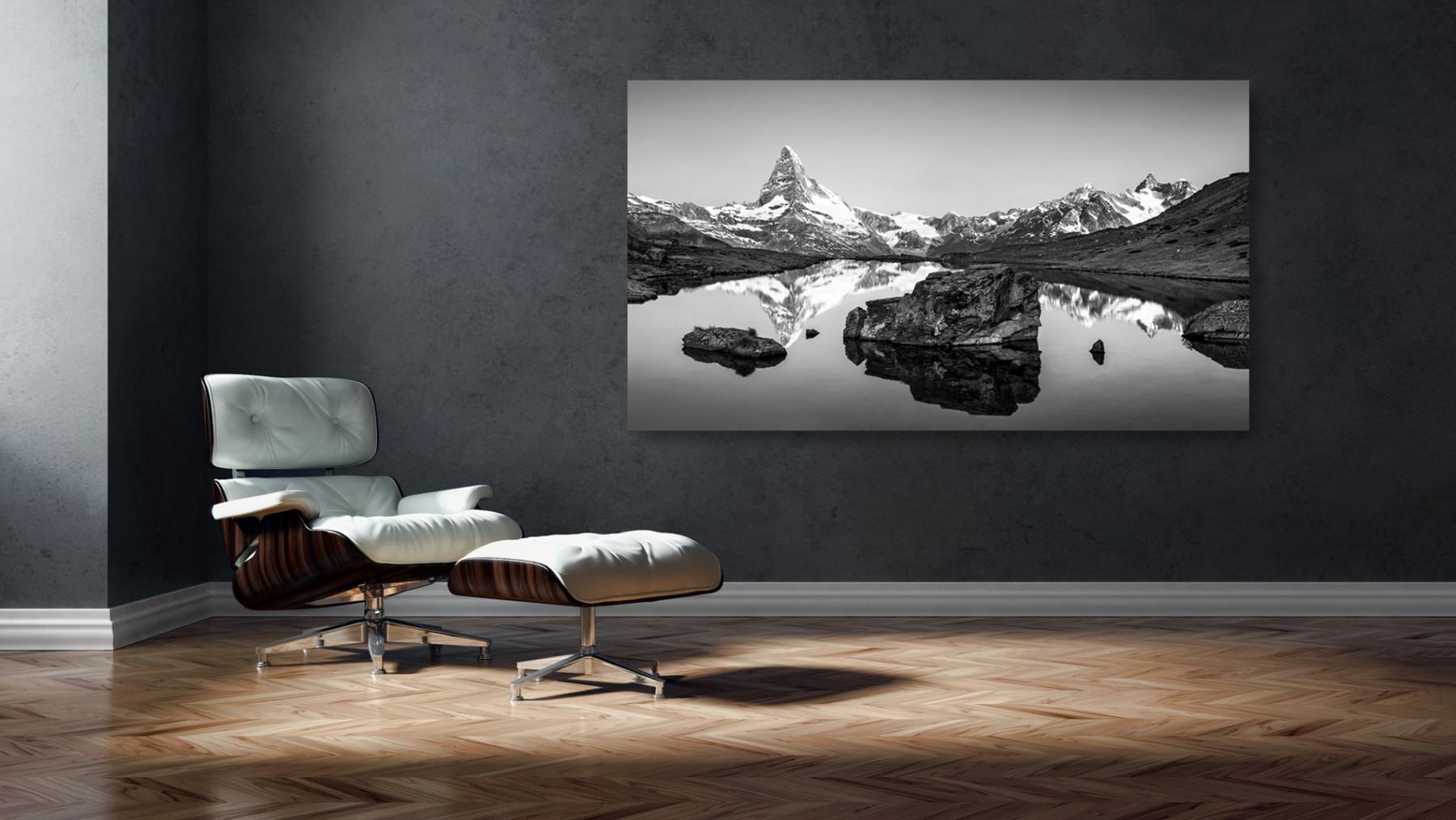 Schweiz, Zermatt, Matterhorn, Stellisee, Herbst