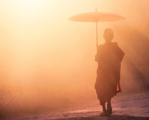 Myanmar - Mrauk OO - Sunset Walk of a noice #1 © by Gerry Pacher
