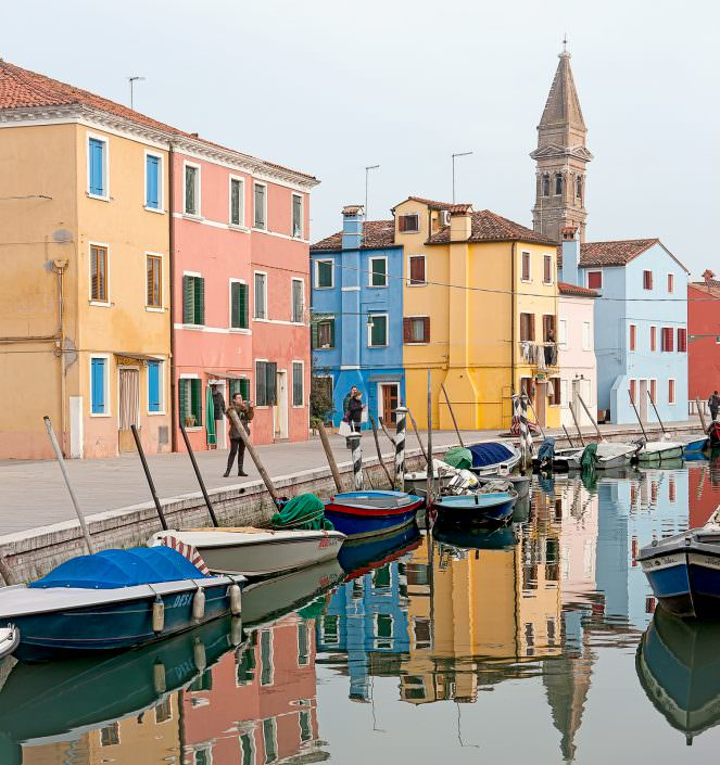 Watercolours - Italy, Venice, Burano © by Gerry Pacher