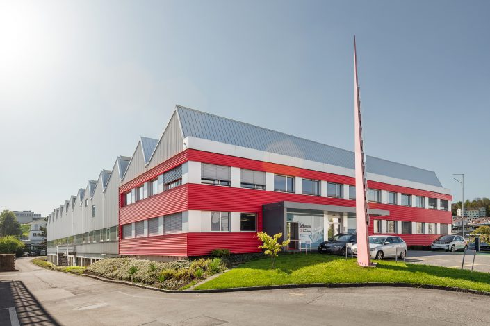 Industriegebäude - Real Estate Photography - Immobilienfotografie © by Gerry Pacher