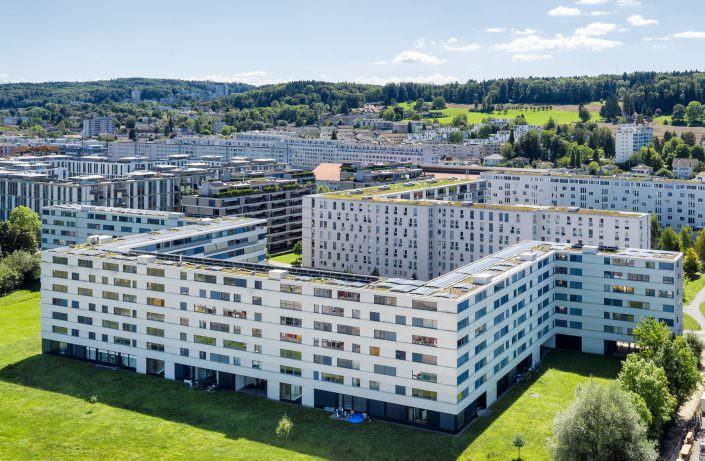 Immobilien Dokumentation, BVK, Mühleackerstrasse, 102-118,8046 Zürich