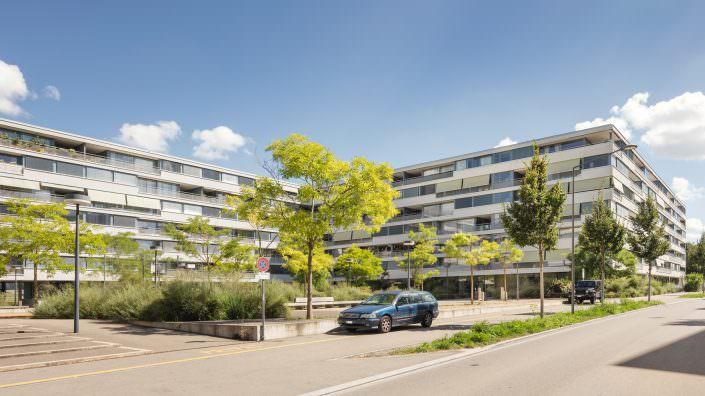 Immobilien Dokumentation, BVK, Mühleackerstrasse, 102-118,8046 Zürich © by Gerry Pacher