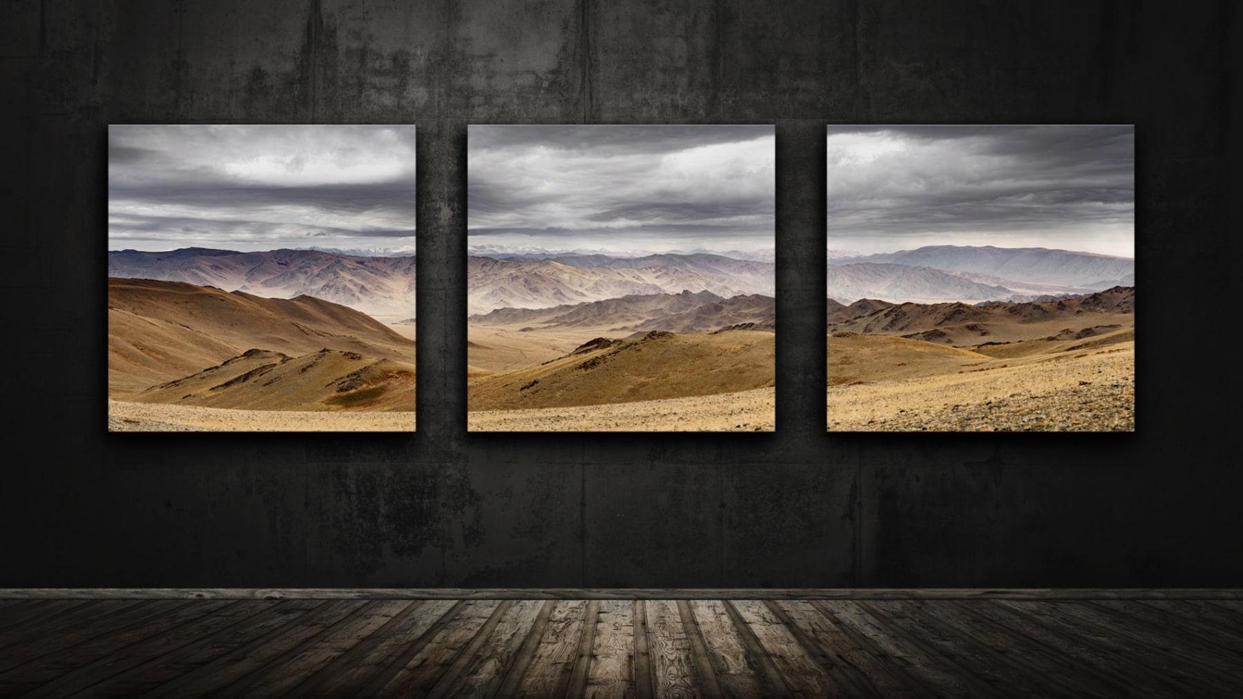 Mongolei - Altai Gebirge - Black Valley - das Land der Adlerjäger / The Land of the Kazakh Eagle Hunter