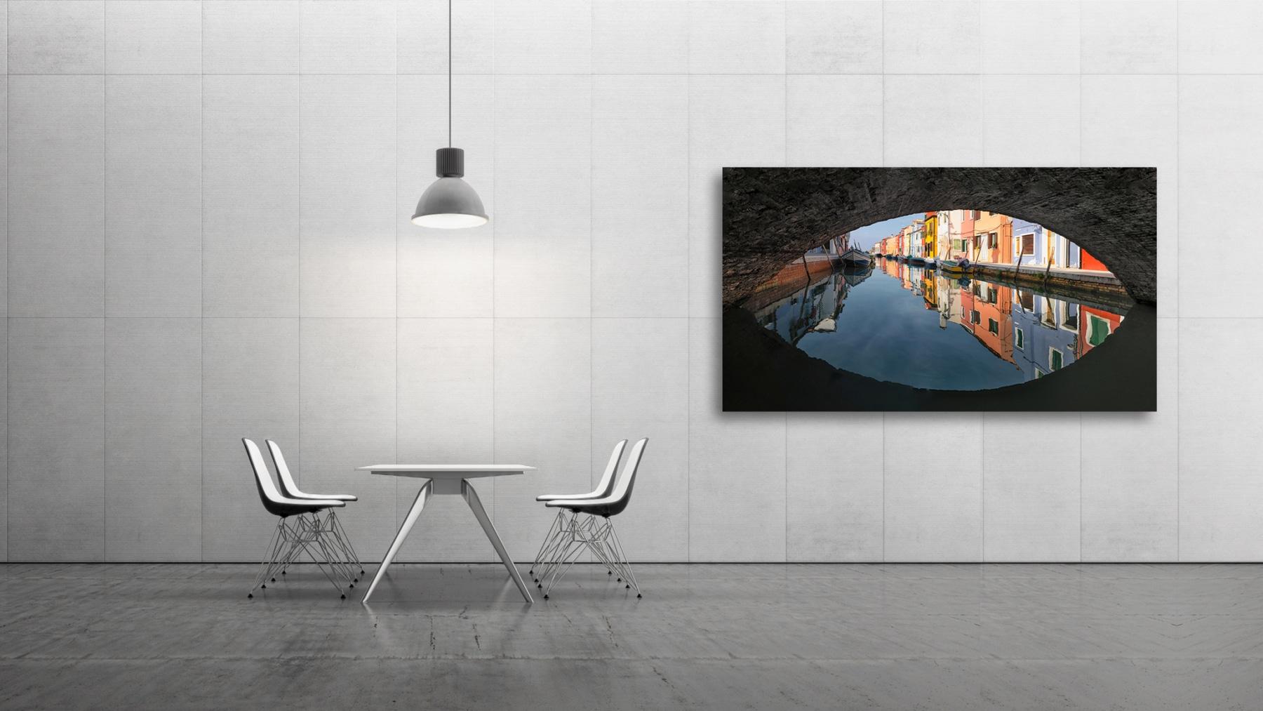 under the bridge - Italy, Venice, Burano © by Gerry Pacher