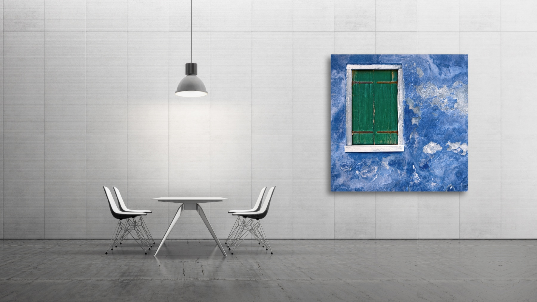 stressed blue wall, Fine Art, Color, Farbe, Italy, Venedig, Burano, Gerry Pacher