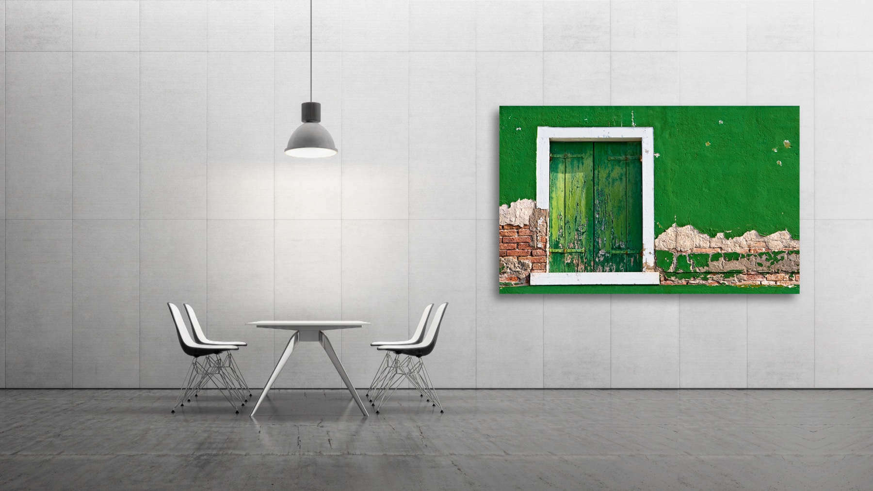stressed green wall, Fine Art, Color, Farbe, Italy, Venedig, Burano, Gerry Pacher