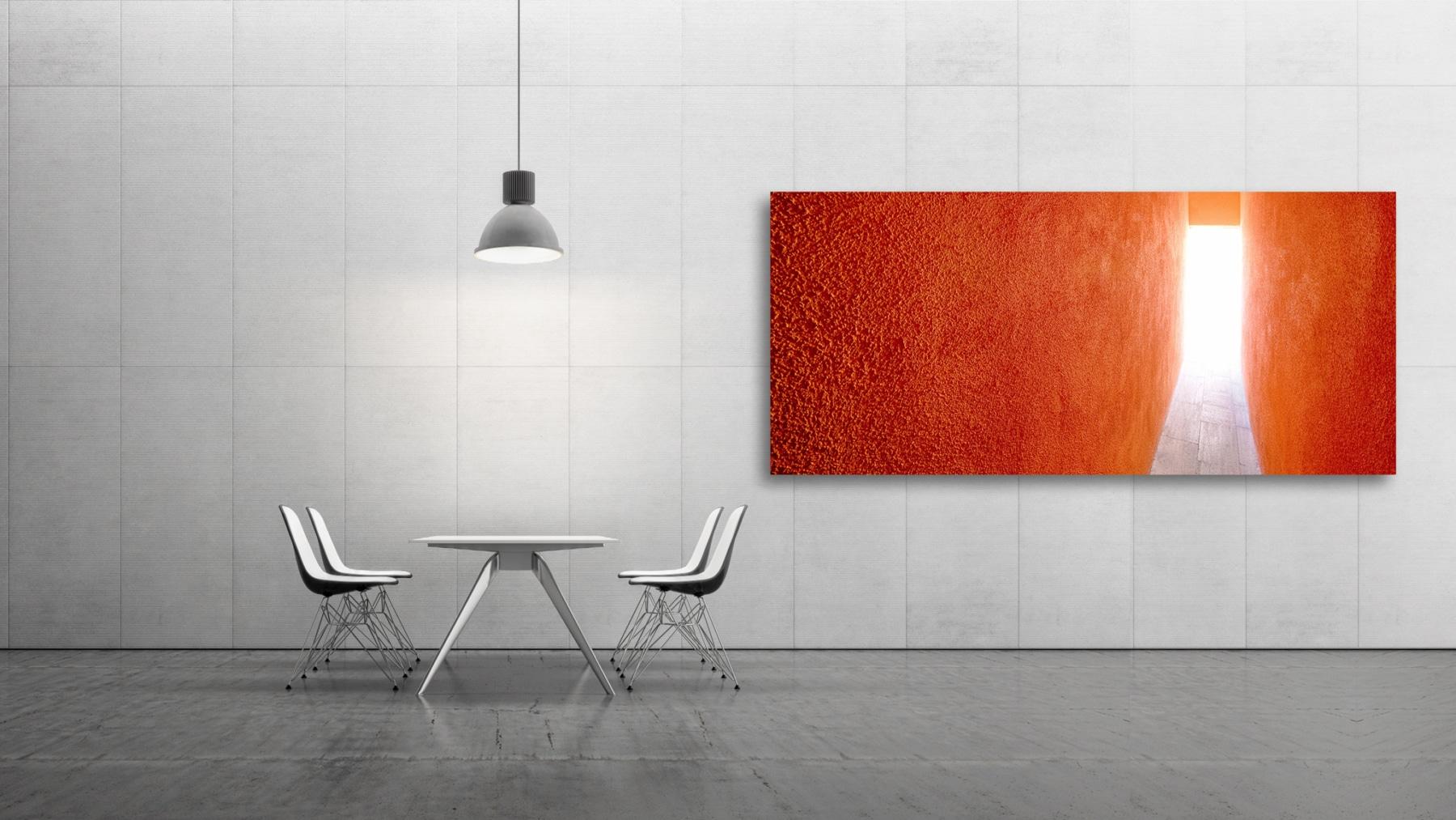 Orange Gate, Fine Art, Color, Farbe, Italy, Venedig, Burano, Gerry Pacher