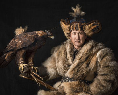 Kazakh - Mongolian - Eagle Hunter - Boete