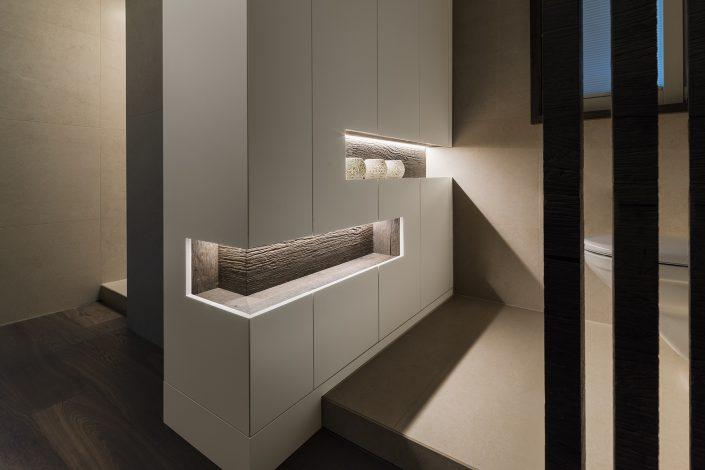 Interiorfotografie Schrankdesign by Rolf Zürcher AG