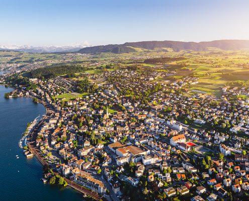 Luftaufnahmen Wädenswil für Bauprojekt Wädens-Hill