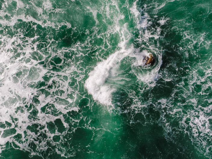 Luftaufnahme - Ocean Splash!