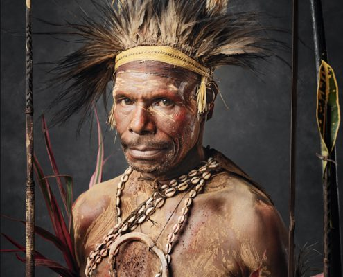 Zu sehen an der Photo 18 in Zürich - Selected Tribal Faces of Papua New Guinea