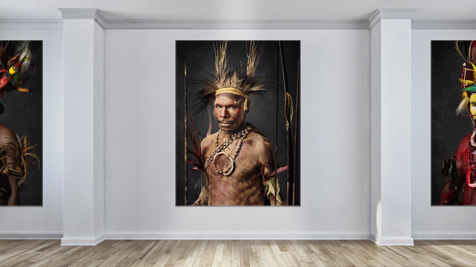 "Portrait Serie ""Tribal Faces of Papua New Guinea"""